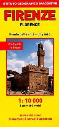 Firenze térkép - De Agostini