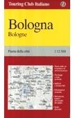 Bologna térkép - TCI
