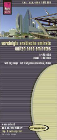 Egyesült Arab Emirátusok térkép - Reise Know-How