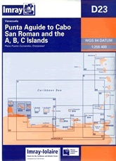 Punta Aguide to Cabo San Roman and the A, B, C Islands Chart D23 - Imray