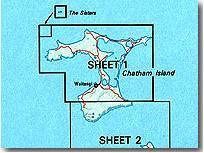 Chatham Islands 1. térkép - Land Information