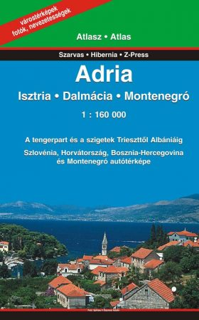 Adria, travel atlas - Szarvas & Hibernia & Z-Press