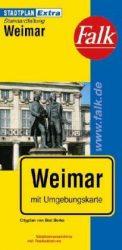 Weimar Extra várostérkép - Falk