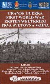 First World War in Friuli Venezia Giulia térkép - Tabacco