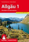 Allgäu (1), német nyelvű túrakalauz - Rother