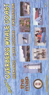 Overberg Whale Coast térkép - Baardskeerder