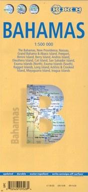 Bahama-szigetek térkép - Borch