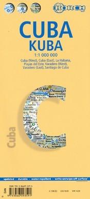 Kuba térkép - Borch