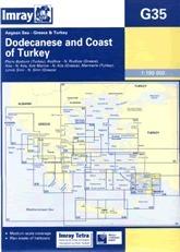 Dodecanese and the Coast of Turkey G35 - Imray