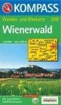 Bécsi-erdő turistatérkép (WK 209) - Kompass