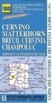 Matterhorn/M. Cervino - Breuil-Cervinia - Champoluc térkép (No 108) - IGC