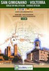 San Gimignano - Volterra térkép - LAC