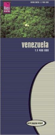 Venezuela térkép - Reise Know-How