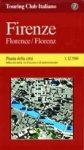 Firenze térkép - TCI