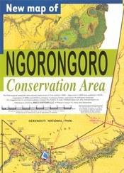 Ngorongoro Conservation Area térkép - Maco Editions