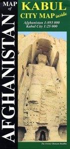Afganisztán térkép - Himalayan Maphouse