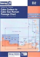 Cabo Codera — Cabo San Roman, Chart D2 - Imray