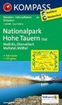 Magas-Tauern Nemzeti Park (dél) turistatérkép (WK 49) - Kompass