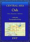 Osh regionális térkép - EWP
