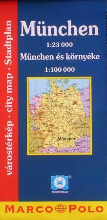 München várostérkép - Falk & Térképvilág