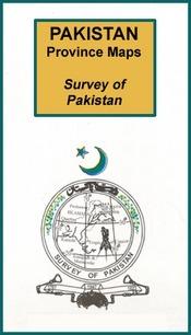 Észak-nyugati határ tartománytérkép - Survey of Pakistan