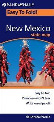 New Mexico (EasyToFold) térkép - Rand McNally