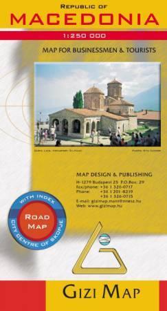 Macedónia térkép - Gizimap