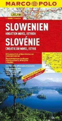 Szlovénia, Horvátország észsaki része, Isztria térkép - Marco Polo