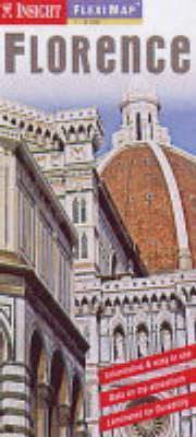 Firenze laminált térkép - Insight