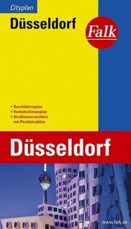Düsseldorf Extra várostérkép - Falk