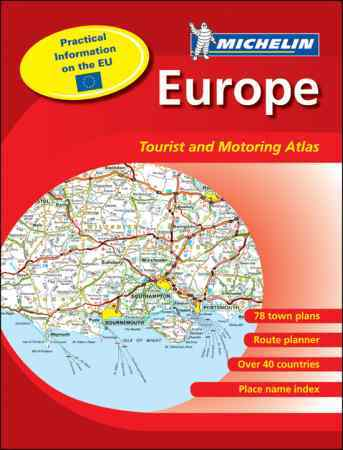 Europe Tourist and Motoring Atlas - Michelin