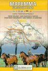 La Maremma Grosettana térkép - LAC