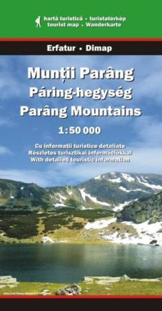 Parâng Mountains, hiking map - Dimap & Erfatur