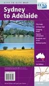 Sydney to Adelaide Hema City to City Road Maps - térkép