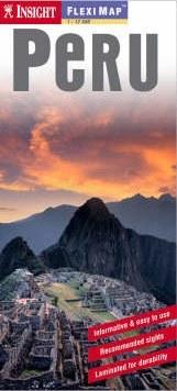 Peru laminált térkép - Insight