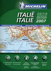Italy Tourist and Motoring Atlas - Michelin