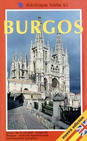 Burgos és környéke térkép - Telstar