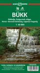 Bükk Hills, hiking map - Szarvas