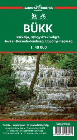Bükk térkép - Szarvas