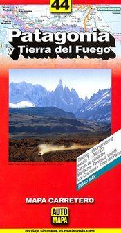 Patagonia and Tierra del Fuego térkép - Automapa