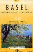 Basel turistatérkép (T 213) - Landestopographie