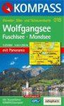 Wolfgangsee turistatérkép (WK 018) - Kompass