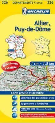 Allier, Puy-de-Dôme (326) - Michelin