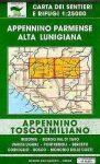 Alta Lunigiana - Borgo Val di Taro - Corniglio térkép (No 9/13) - Multigraphic