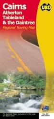 Cairns, Atherton Tableland and The Daintree térkép - UBD