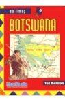 Botswana zsebtérkép - Map Studio