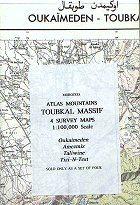 Atlas Mountains Toubkal Massif - (4 térképes szet) - Orientazion