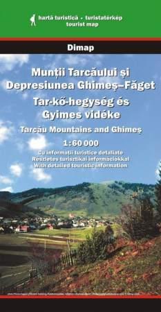 Tar-kő-hegység és Gyimes vidéke turistatérkép - Dimap