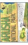 Arusha National Park térkép - Maco Editions