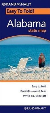 Alabama (EasyToFold) térkép - Rand McNally